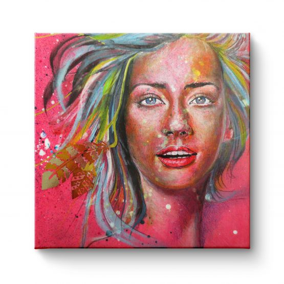 Pink Lady - Canvas