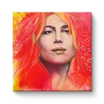 Red Lady - Canvas