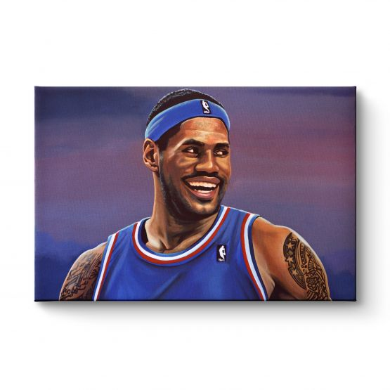 Lebron James - Canvas