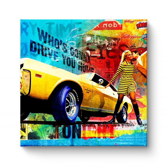 Who Drive You Home - Canvas