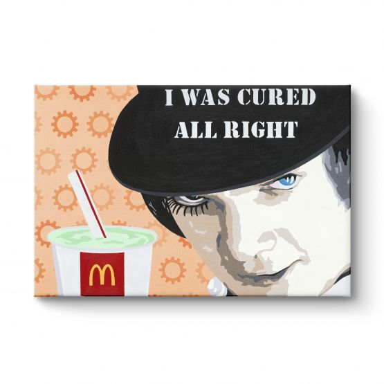 I Was Cured All Right - Canvas