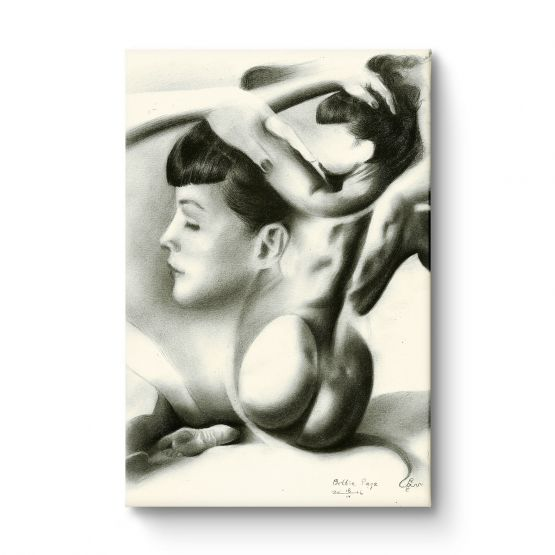 Bettie Page - Canvas
