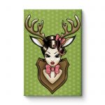 Deer Darling - Canvas