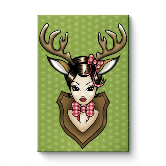 Deer Darling - Original Kunst