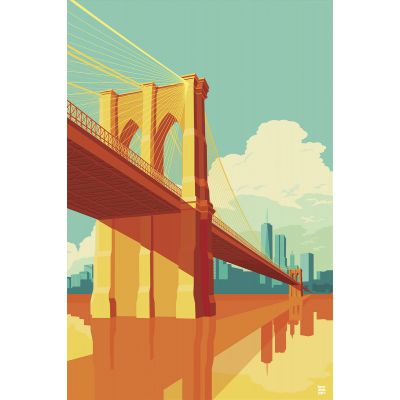 Brooklyn Bridge - Original Kunst