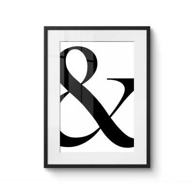 Ampersand - Original Kunst