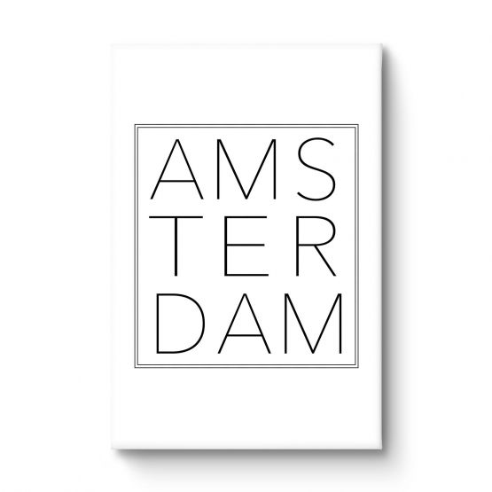 Amsterdam - Canvas
