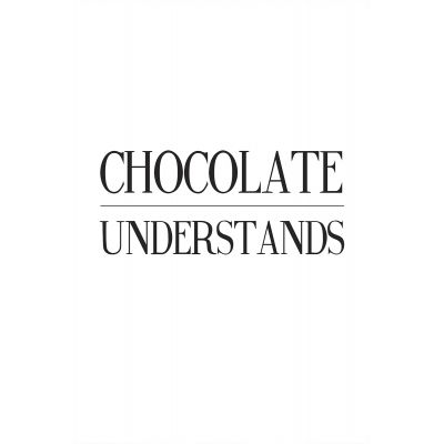 Chocolate understands - Original Kunst