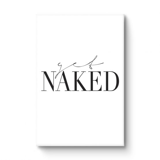 Get naked - Canvas