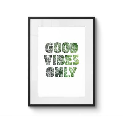 Good vibes - Original Kunst