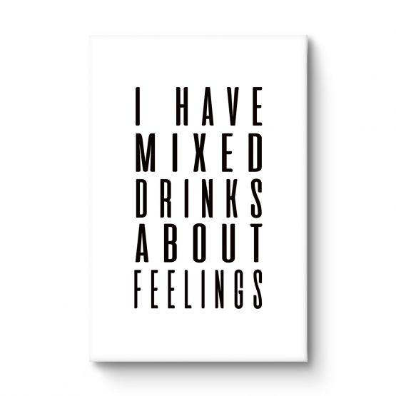 Mixed drinks - Canvas