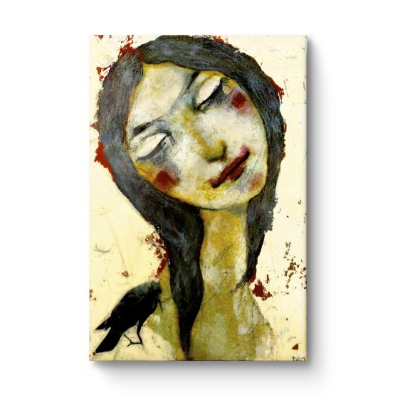 Black Bird - Canvas