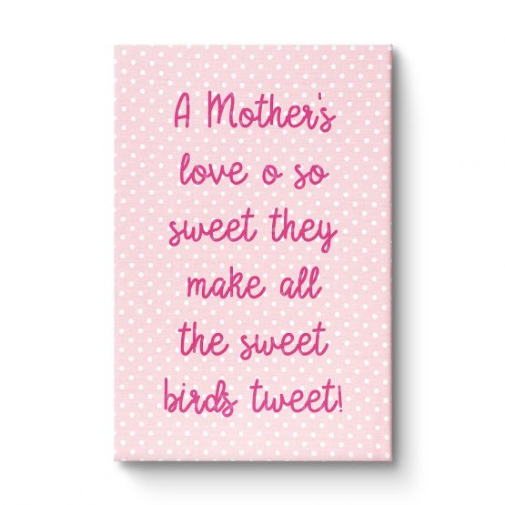 A mother's love Girl - Canvas