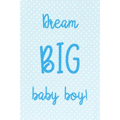 Dream big Boy - Original Kunst