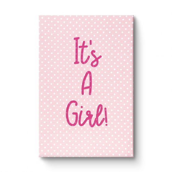It's a girl - Canvas