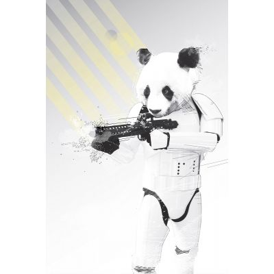 Trooper Panda - Original Kunst