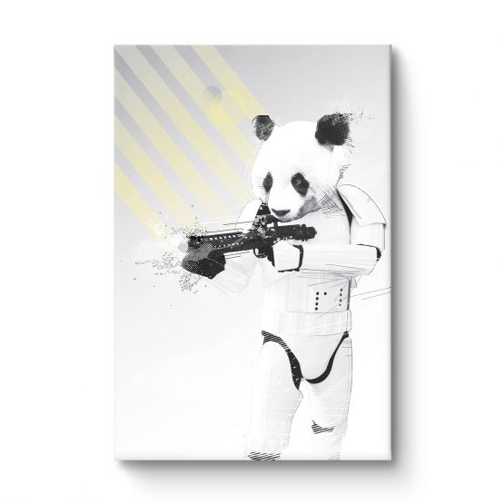 Trooper Panda - Canvas