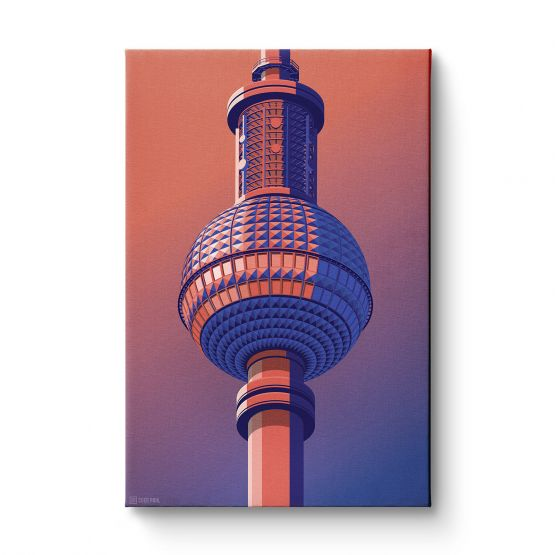 Observation Towers 2 - Canvas