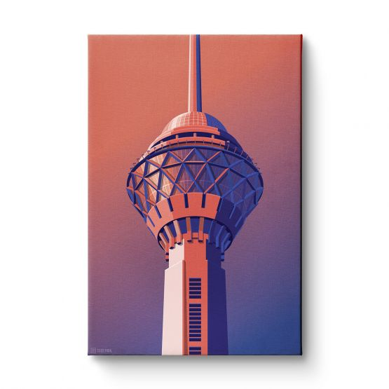 Observation Towers 3 - Canvas