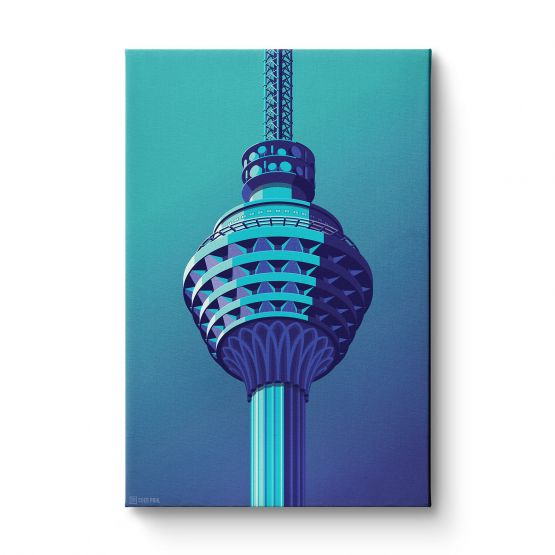 Observation Towers 4 - Canvas