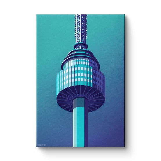 Observation Towers 6 - Canvas