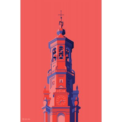Towers Netherlands 1 - Original Kunst