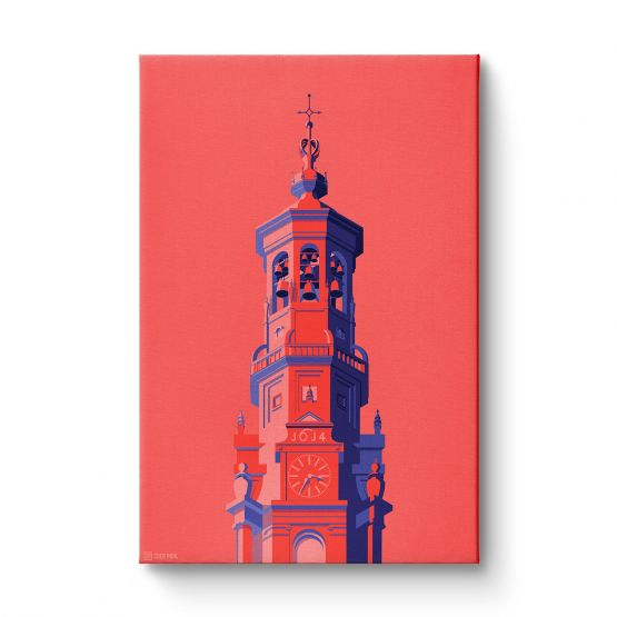 Towers Netherlands 1 - Canvas