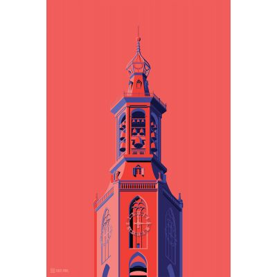 Towers Netherlands 4 - Original Kunst