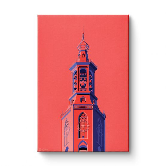 Towers Netherlands 4 - Canvas