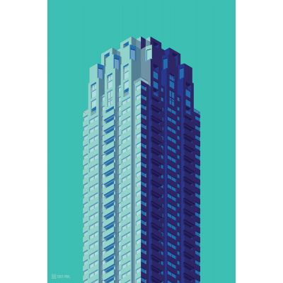 Towers Netherlands 6 - Original Kunst