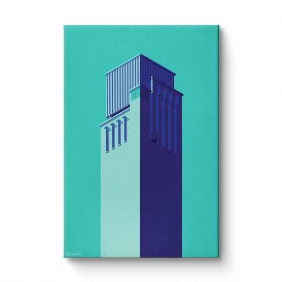 Towers Netherlands 7 - Canvas