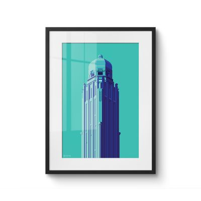 Towers Netherlands 9 - Original Kunst