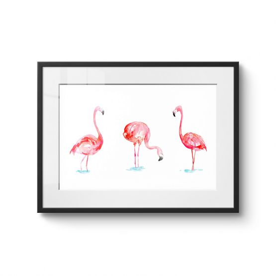 Flamingo - Original Kunst