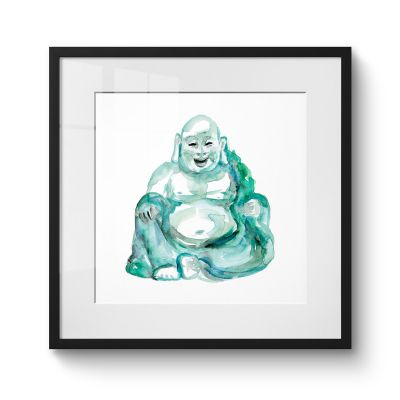 Laughing Buddha - Original Kunst