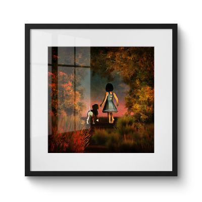 Exploring The Woods - Original Kunst