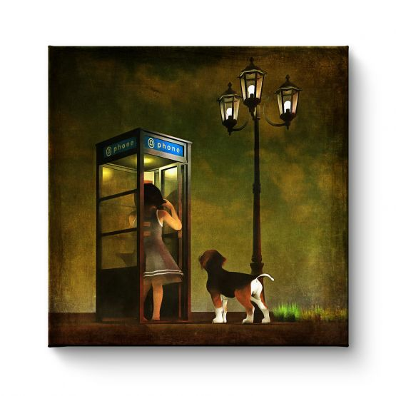 Phoning Home - Canvas