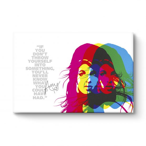 Amy Winehouse Quote - Canvas